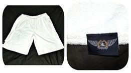 "Image of SEAHAWK ""12"" Themed Towel Shorts w/ All Patch Options"