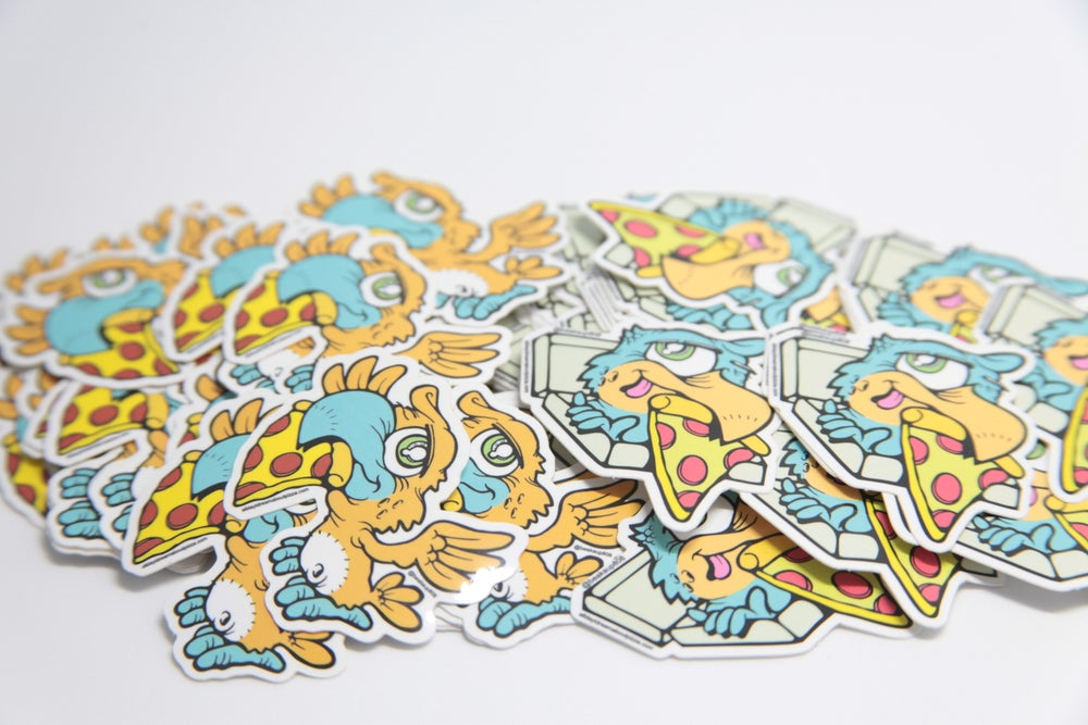 Image of B3ak03 colab Stickers