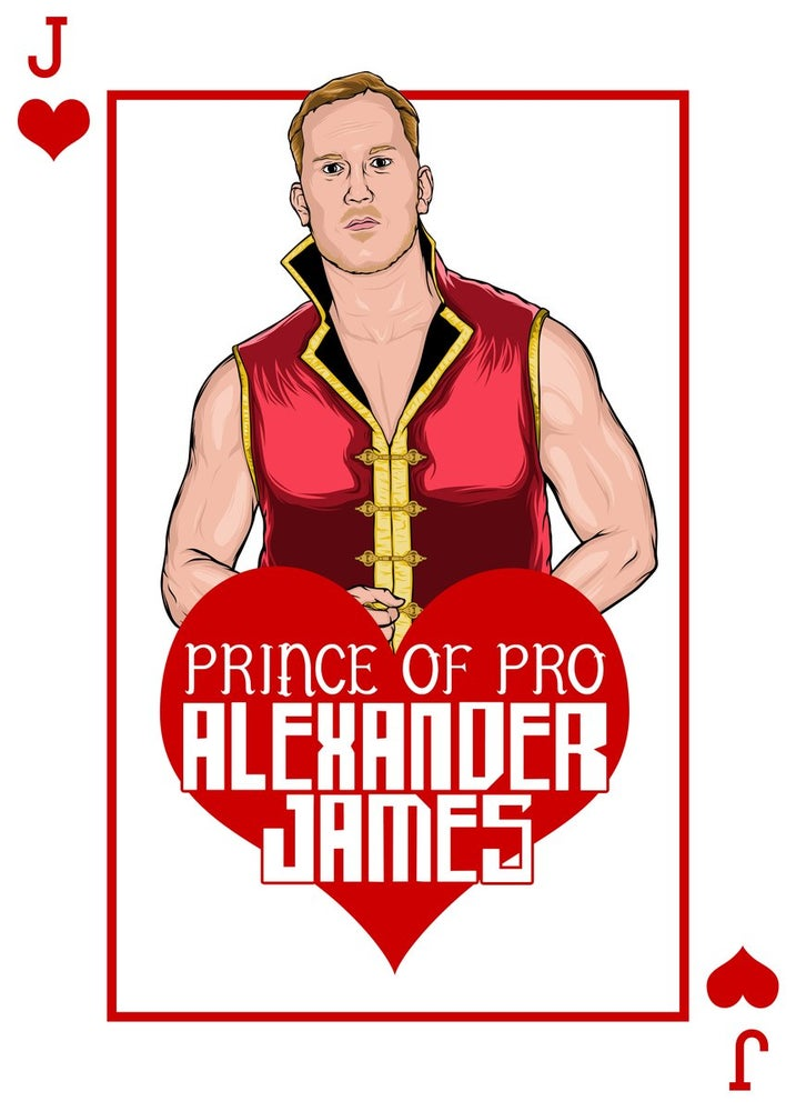 "Image of Alexander James the ""Prince of Pro"" House of Cards Print"