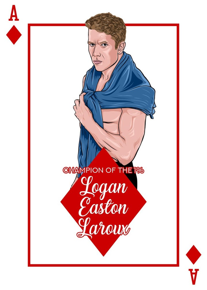 "Image of Logan Easton Laroux ""The Champion of the 1%"" House of Cards Print"