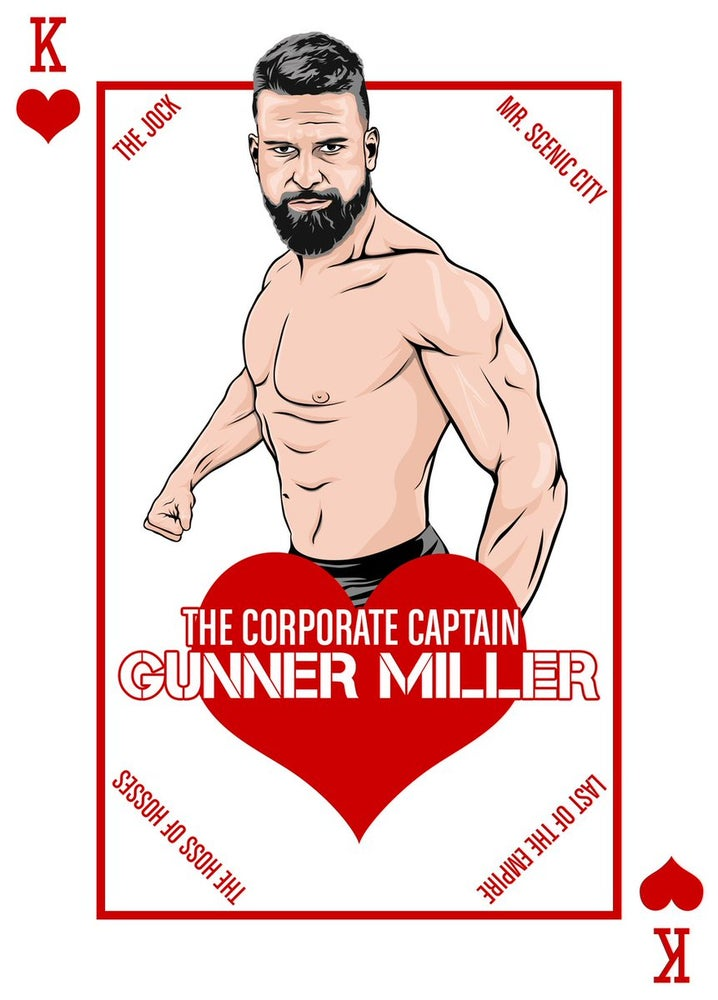"""Image of Gunner Miller the """"Corporate Captain"""" House of Cards Print"""