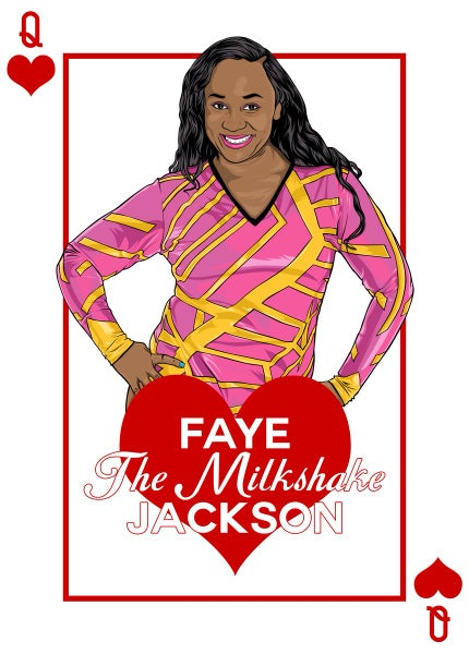 Image of Faye Jackson House of Cards Print
