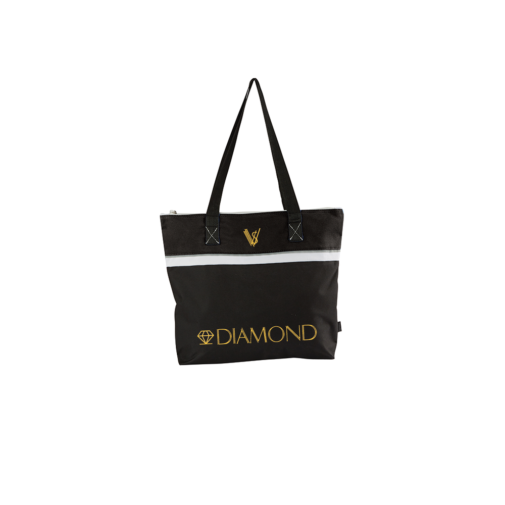 Image of VVS GOLD DIAMOND TOTE