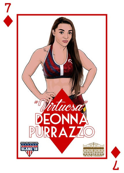 Image of Deonna Purrazzo House of Cards print