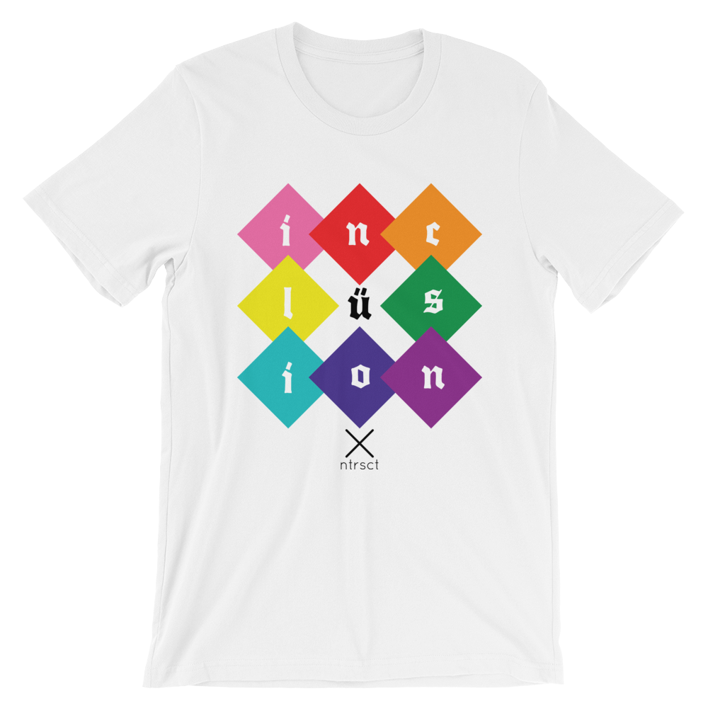 Image of Inclüsion tee - pride edition