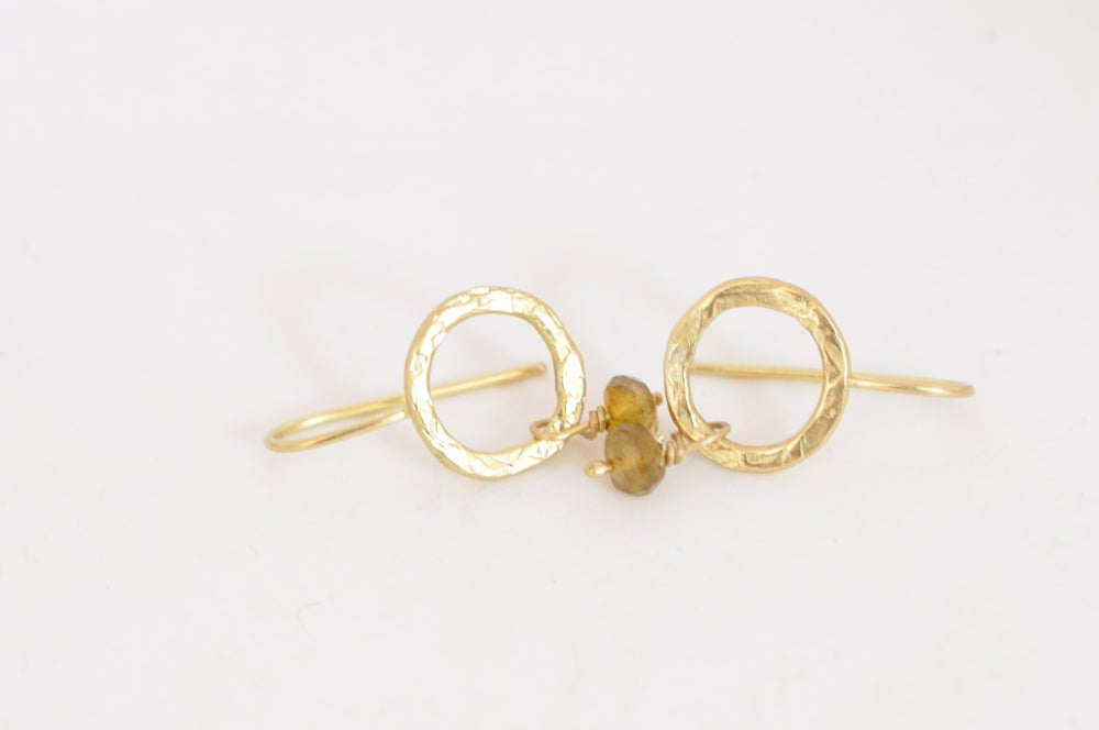 Image of Sasha gold earrings