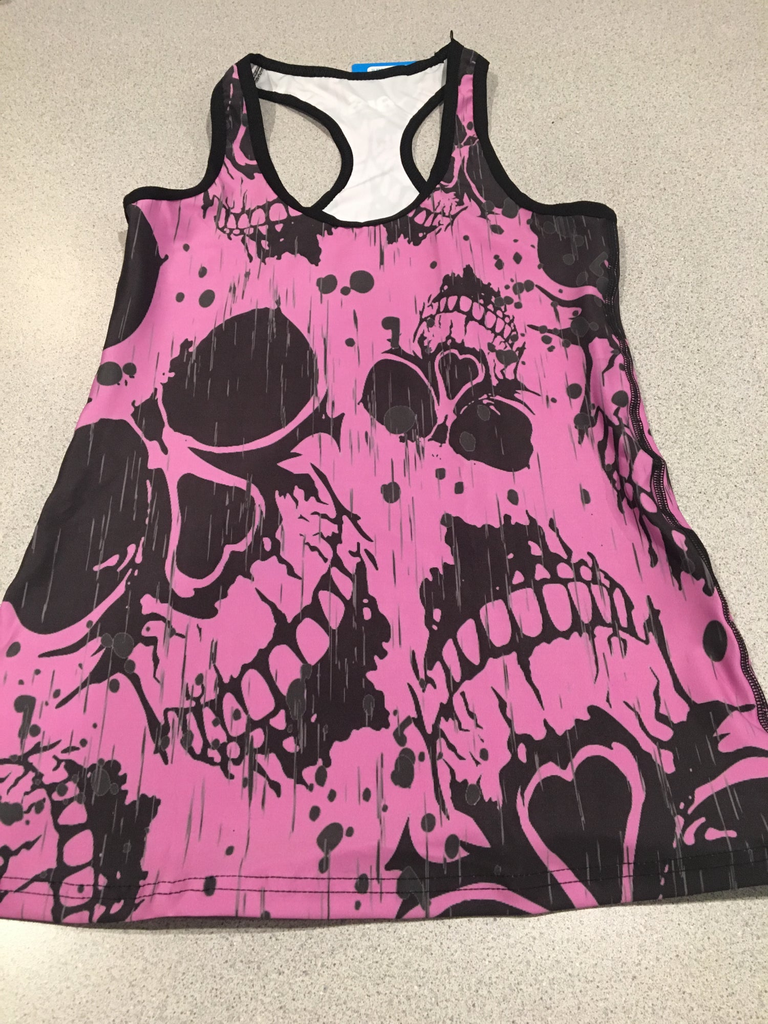 Image of COOL PINK SKULLZ-TBACK