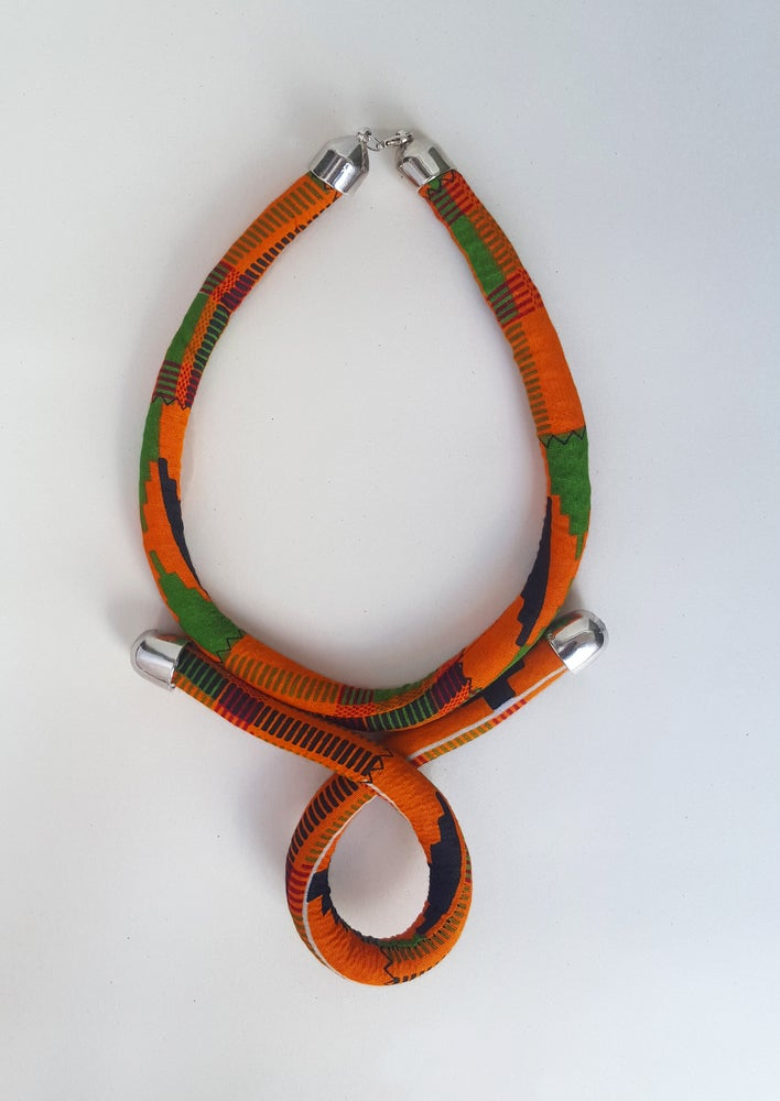 Image of Nubian Orange necklace