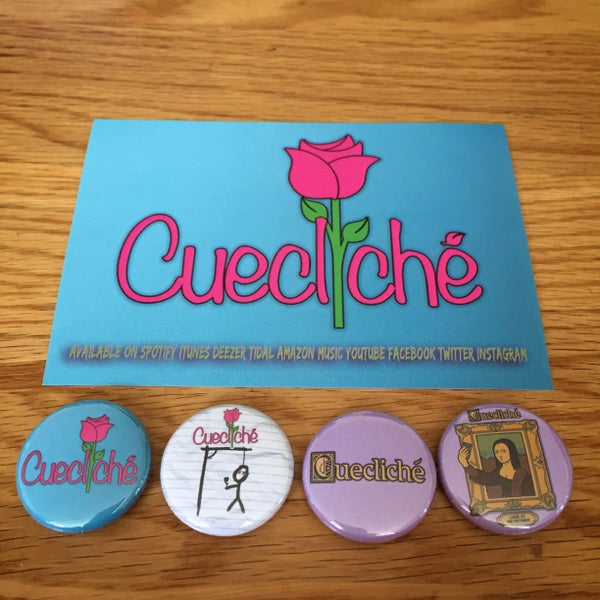 Image of Badge/Sticker Pack