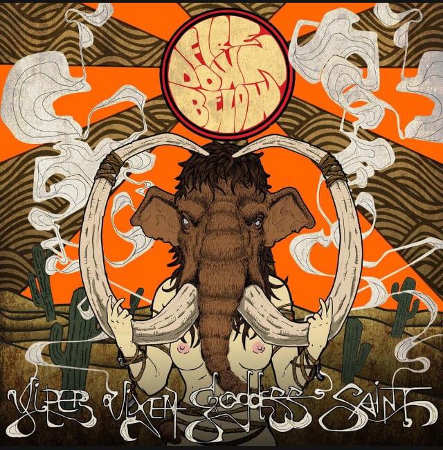 Image of Fire Down Below - Viper Vixen Goddess Saint Hellfire Limited Midnight Black LP
