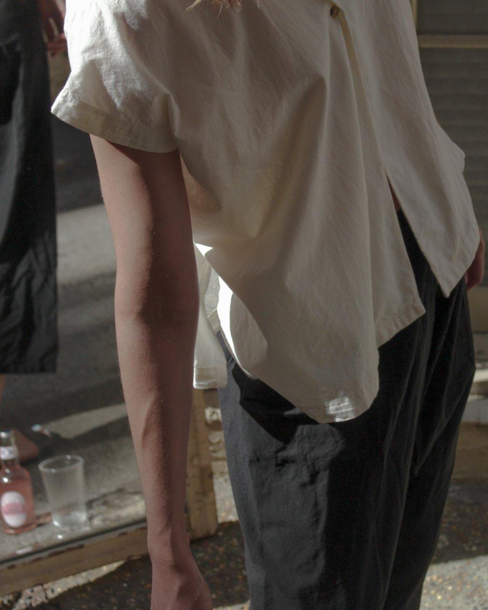Image of Black Crane Box Shirt