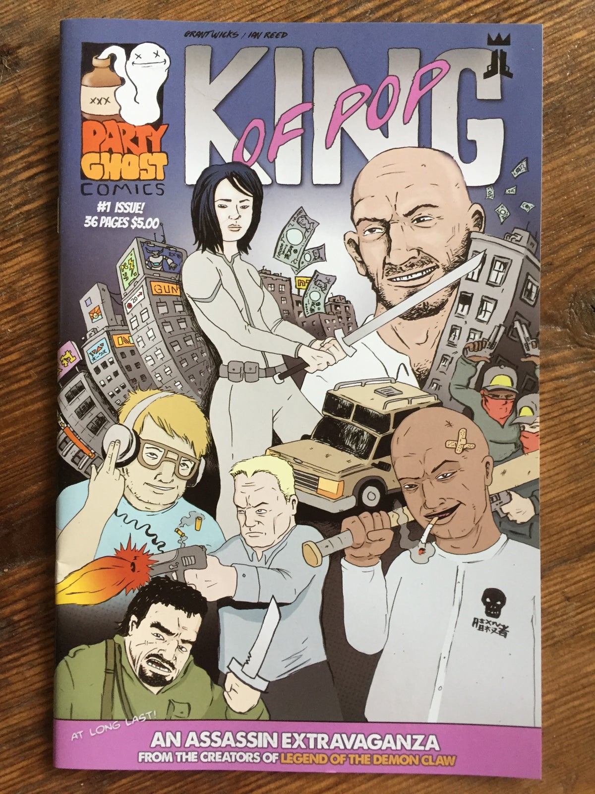 Image of King of Pop - Issue 1