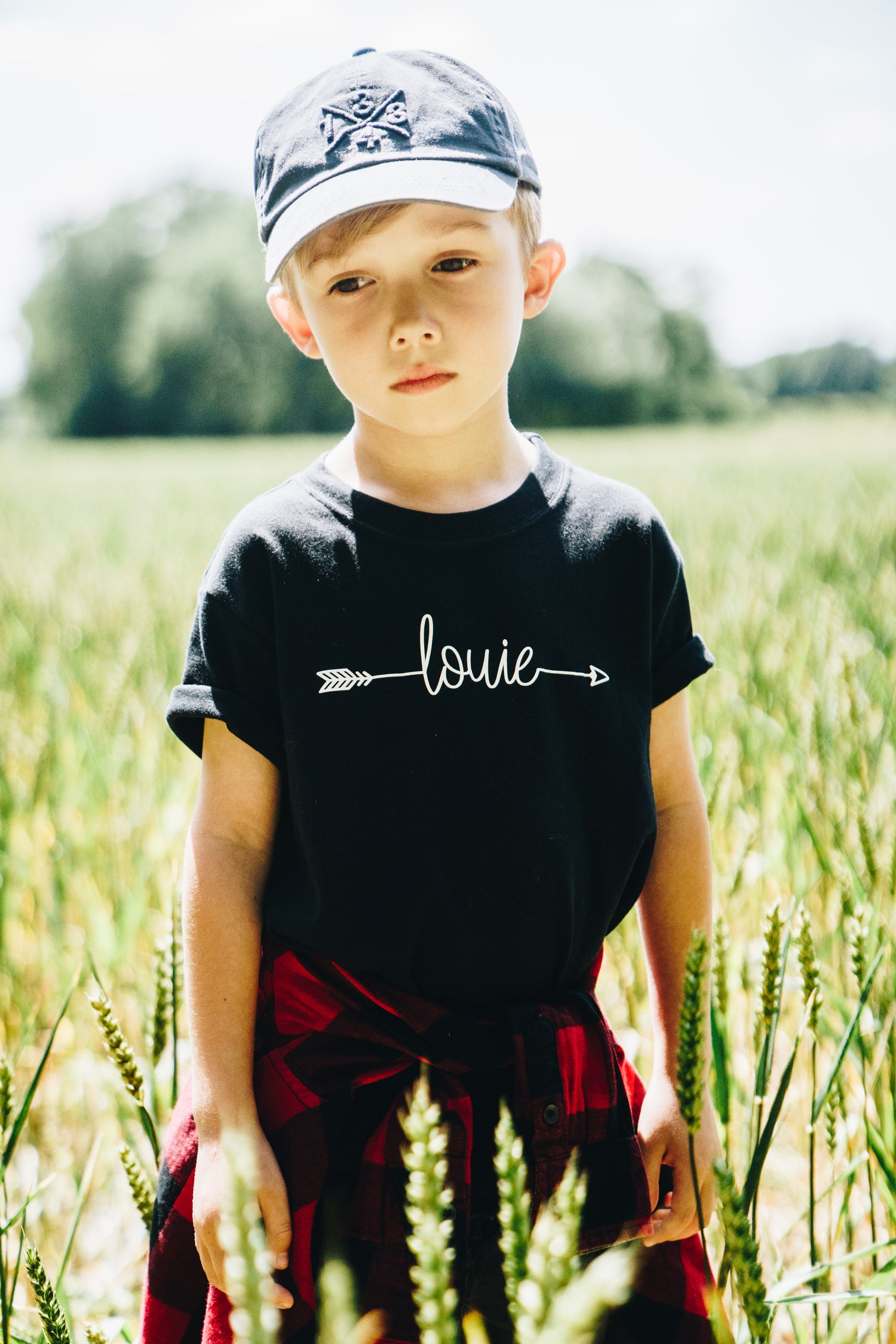Image of Personalised Arrow Name Tee