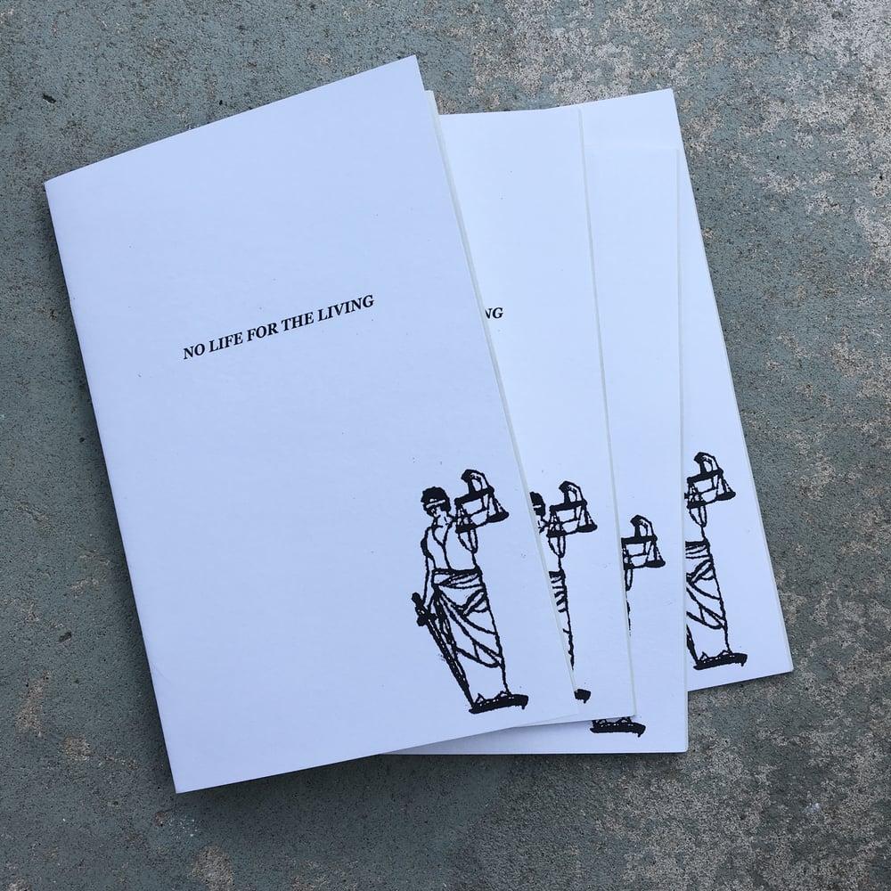 Image of NO LUCK/NO LIFE zine/tee/print combo