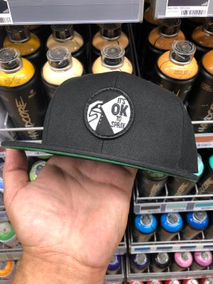 "Leave Your Mark ""Its OK To Spray"" Snap Back Hat"