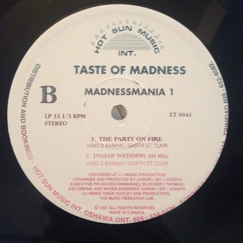 Image of Taste of Madness - Indian Wedding