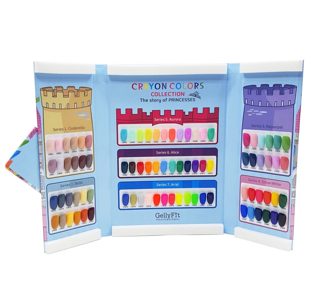 Image of GellyFit Crayon Collection 36 colors