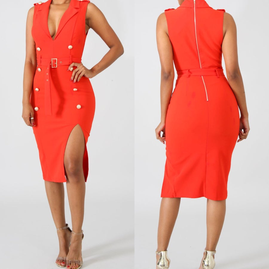 Image of Rachel midi dress