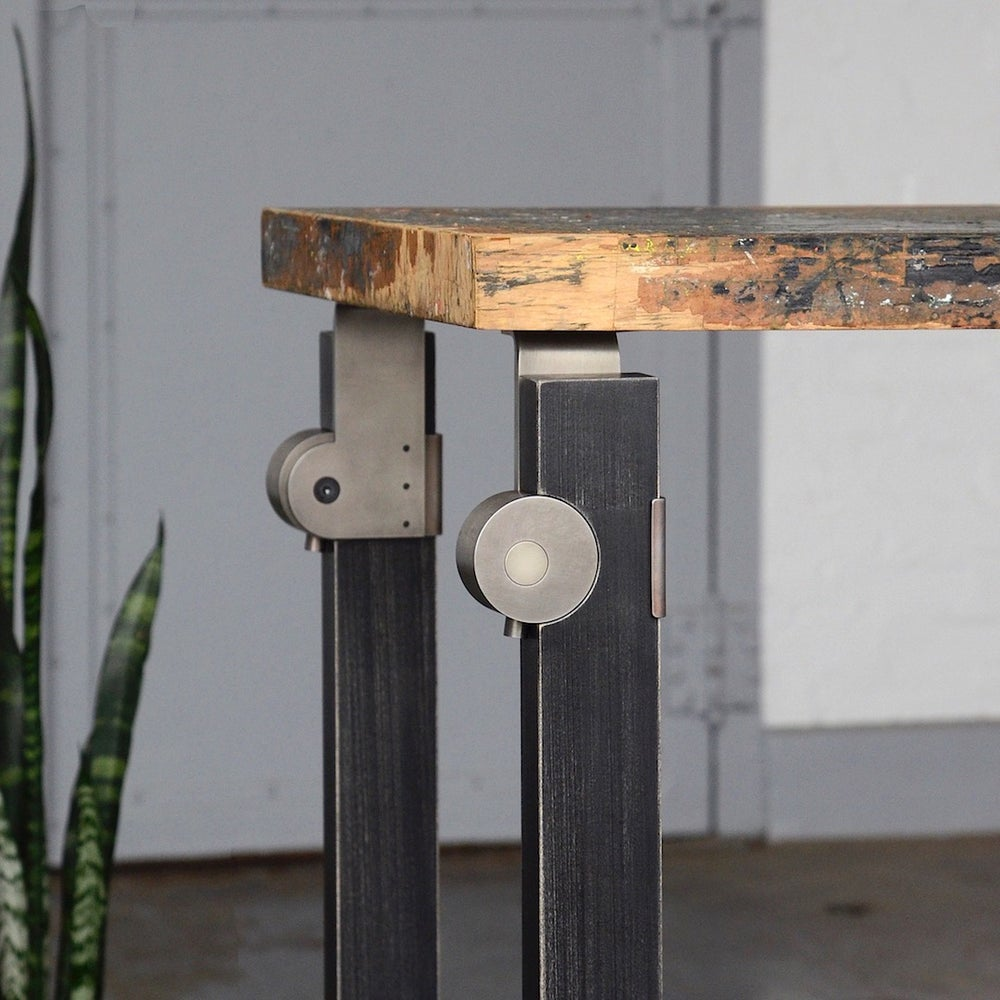 Image of cam lock parsons table