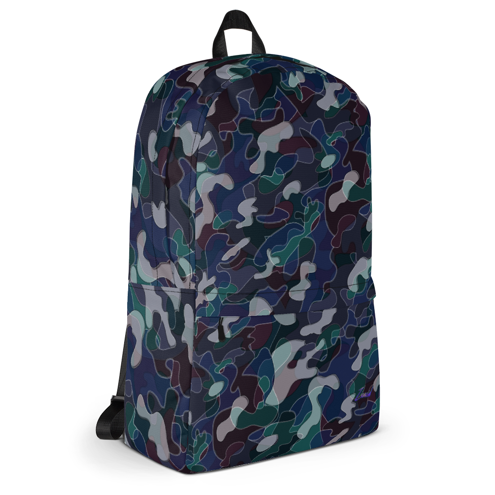 Image of Crooked Camo Backpack - Zionoid