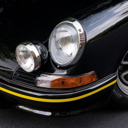 Image of PORSCHE 911 CARRERA RS/RSR BUMPER STRIPE DECAL KIT