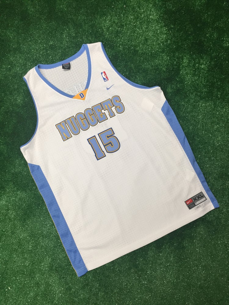 various colors c3f0c bb115 Carmelo Anthony Denver Nuggets Nike Swingman Jersey (Size XXL)