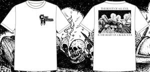 Image of Corehammer Skeletons White Shirt *PRE-ORDER*