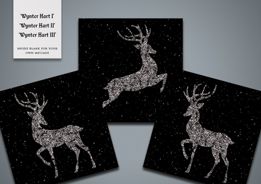 Image of Wynter Hart Greetings Cards (pack)