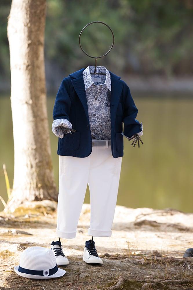 Image of Blue Jungle suit set