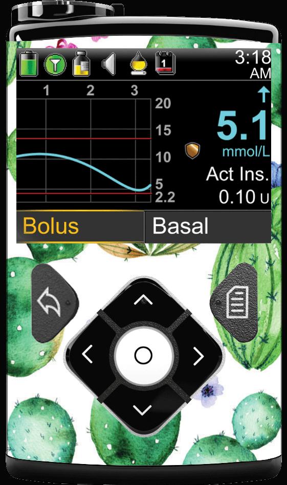 Image of Cactus Medtronic Minimed 630G, 640G, 670G