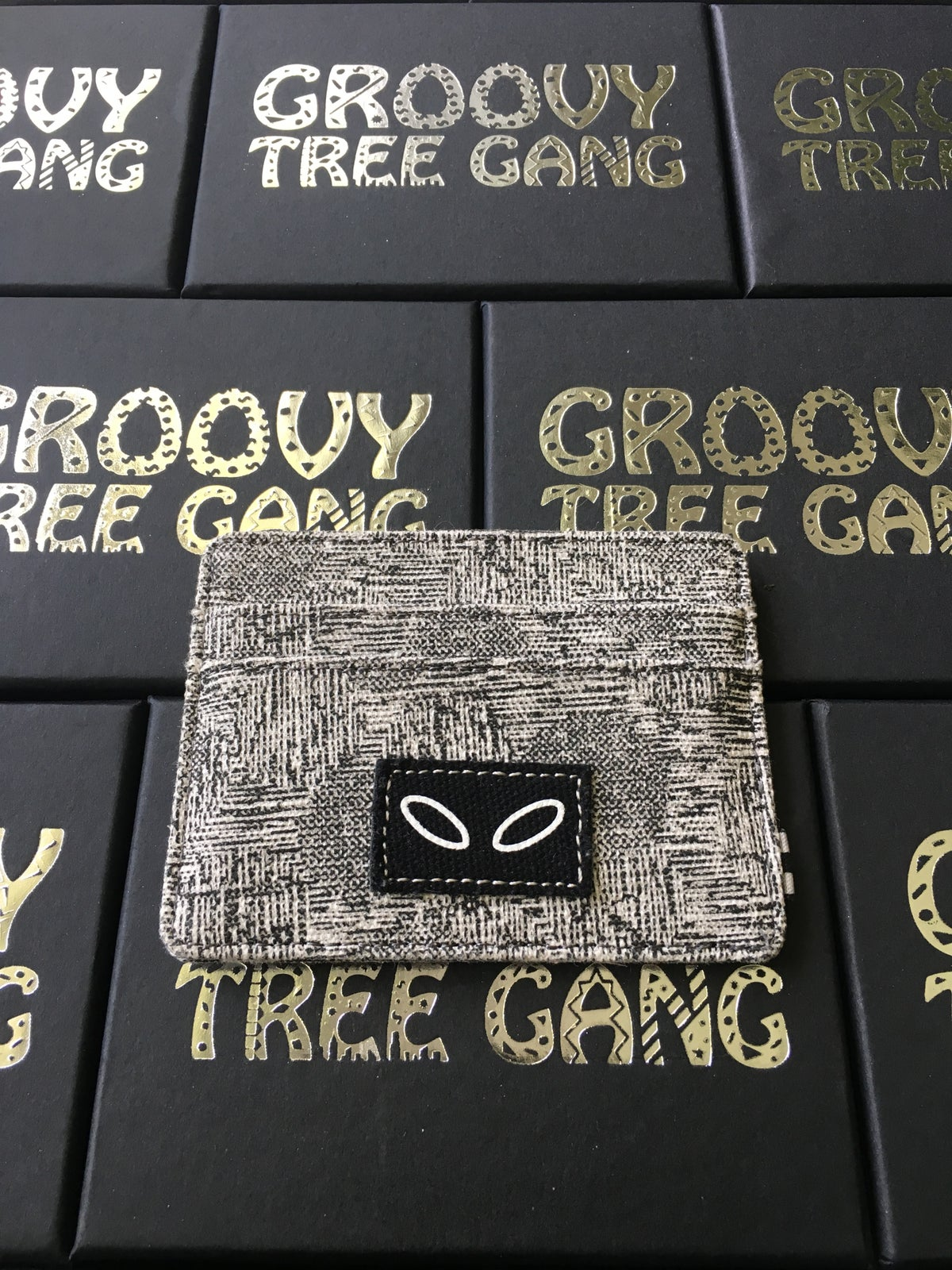 Image of Groovy Canvas Wallet / Cardholder
