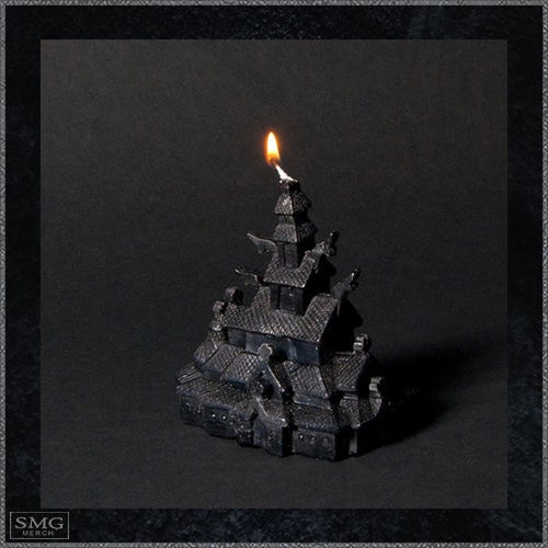 Image of Stave Church candle - Burn down your own Stave Church!