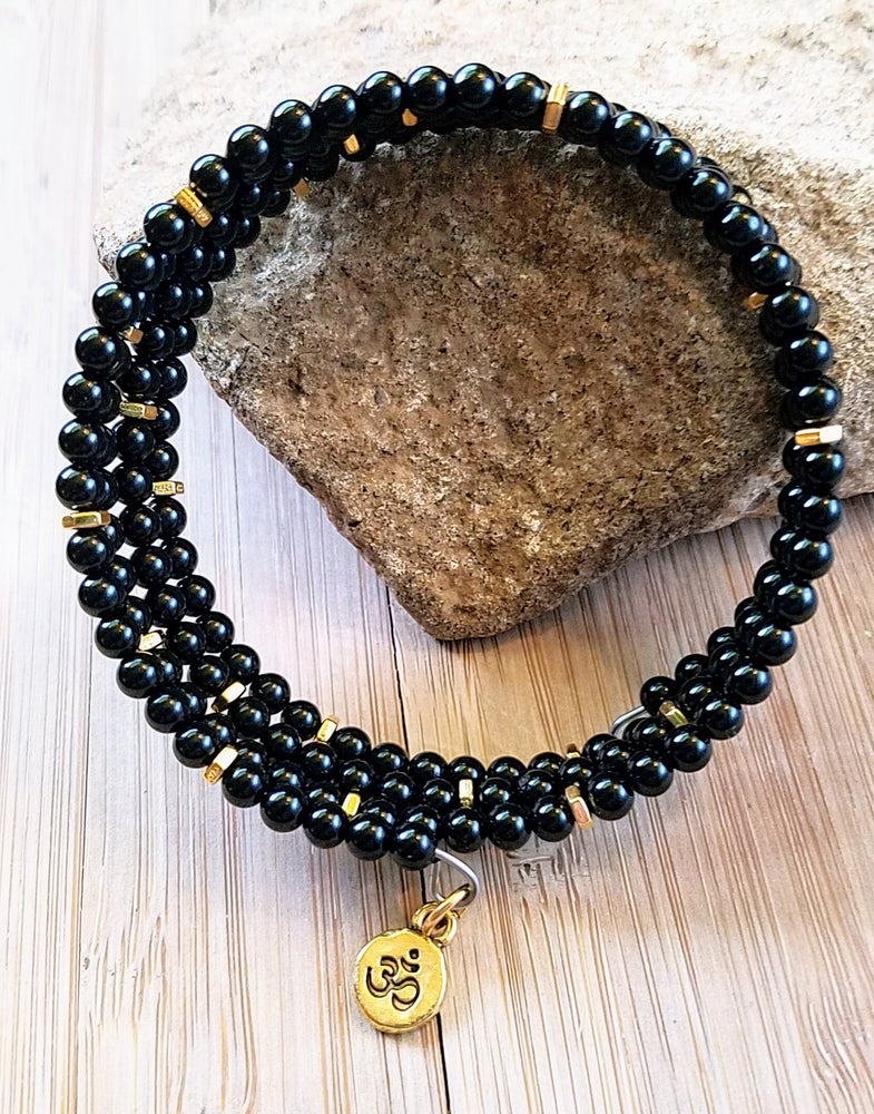 Image of Black Onyx Wrap Bracelet