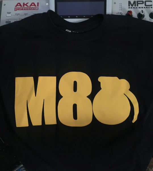 "Image of Dj M-80 ""M-8Bomb"" TEE-SHIRT"