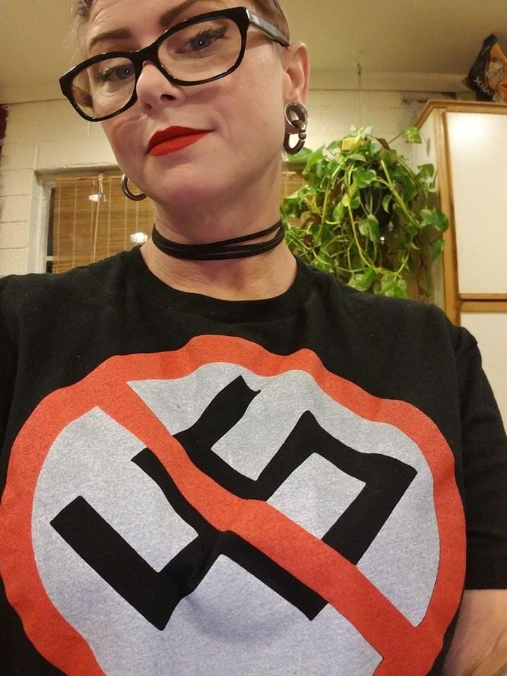 Image of Anti-Nazi Trump 45 Shirt #MAGA