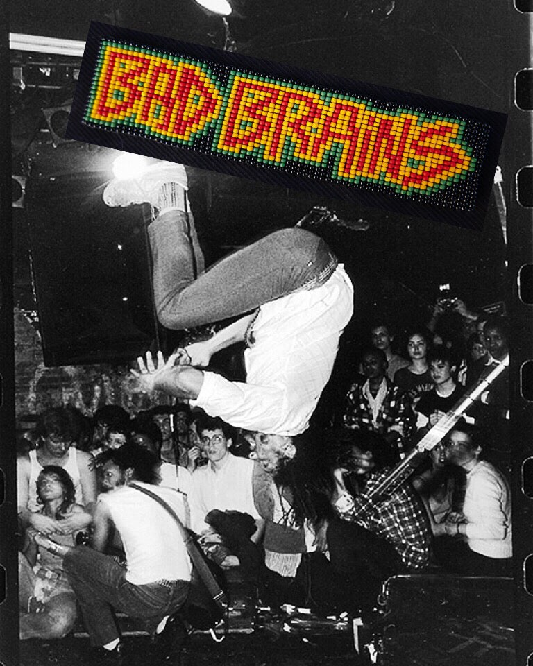 Image of Bad Brains patch