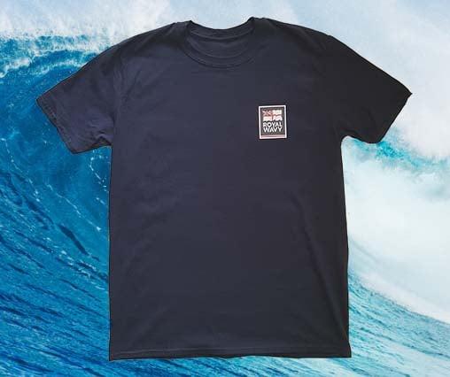 Image of Royal Wavy T-Shirt