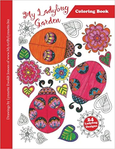 Image of My Ladybug Garden coloring book