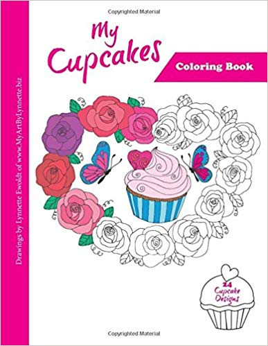Image of My Cupcakes coloring book