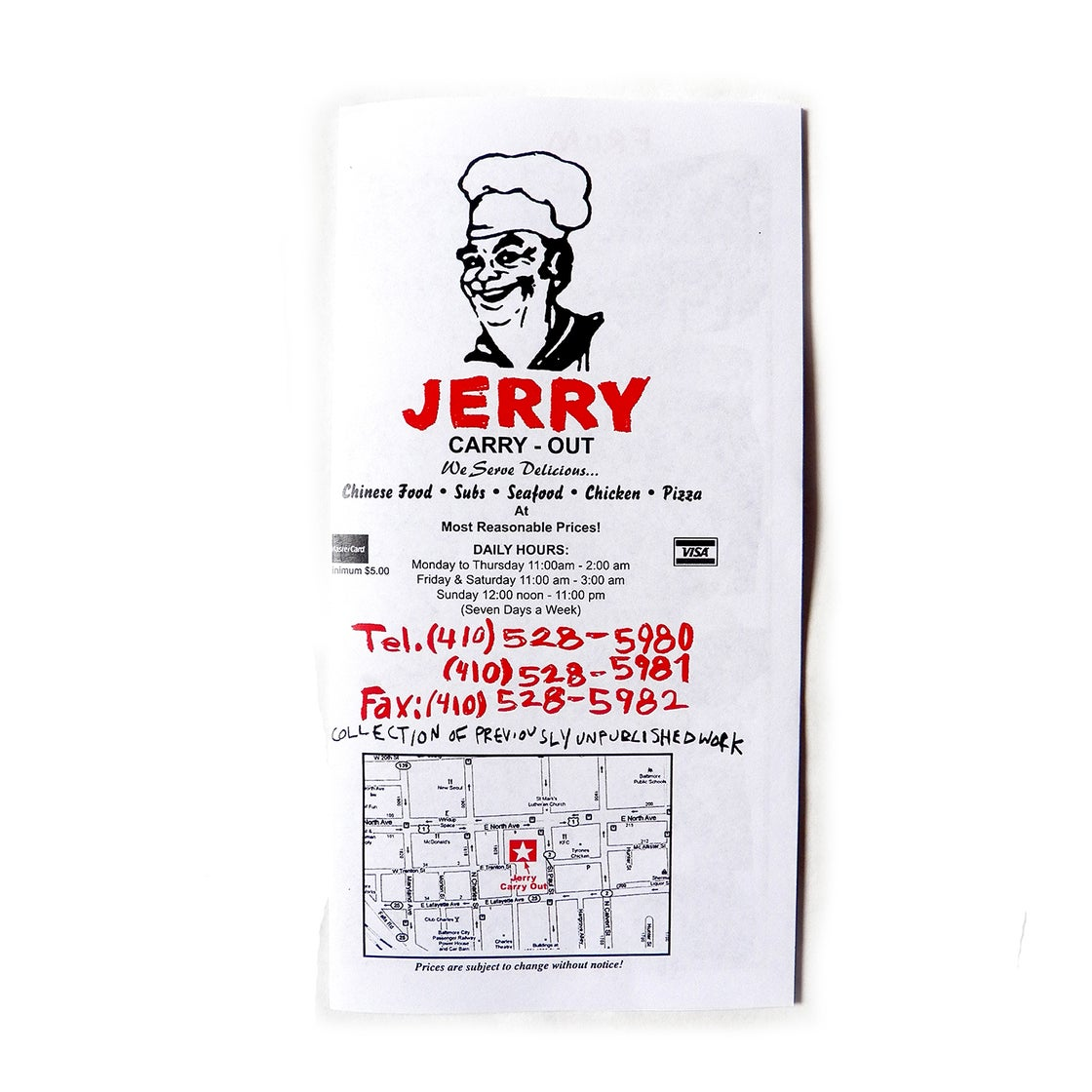 Image of JERRY CARRY OUT - MTN NGC