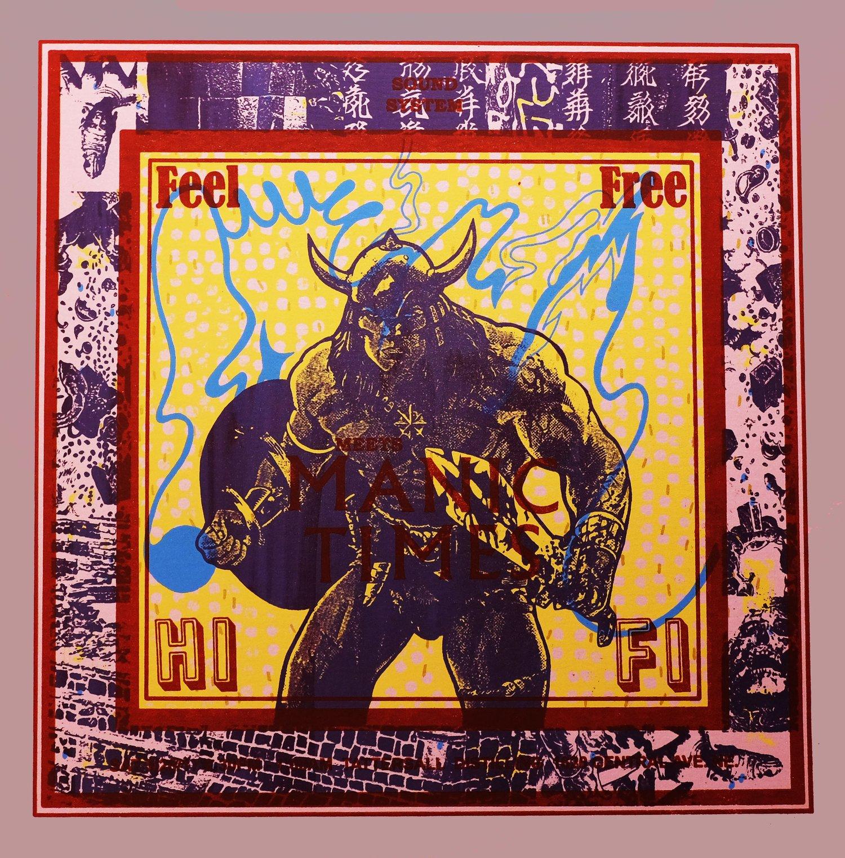 Image of Feel Free Hi Fi + Manic Times Poster
