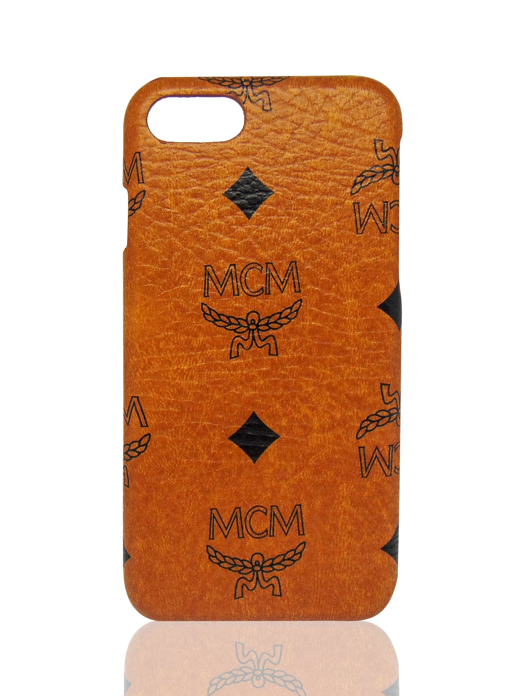 brown mcm the crave