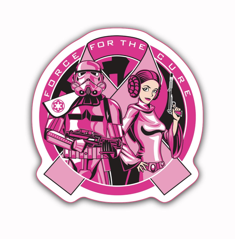 Image of Force For The Cure: Logo Sticker