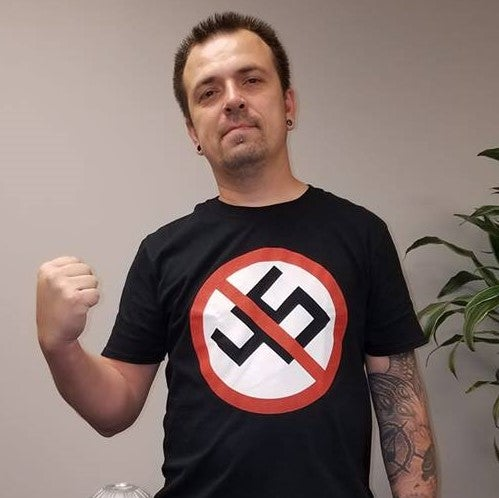 Image of Anti-Nazi Trump 45 Shirt #MAGA