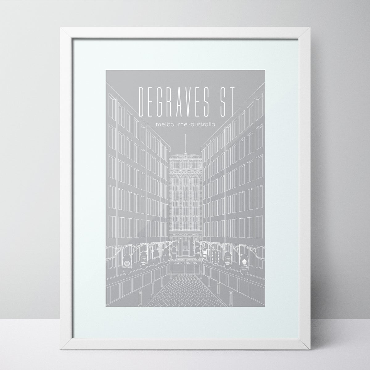 Image of Degraves Street - Melbourne