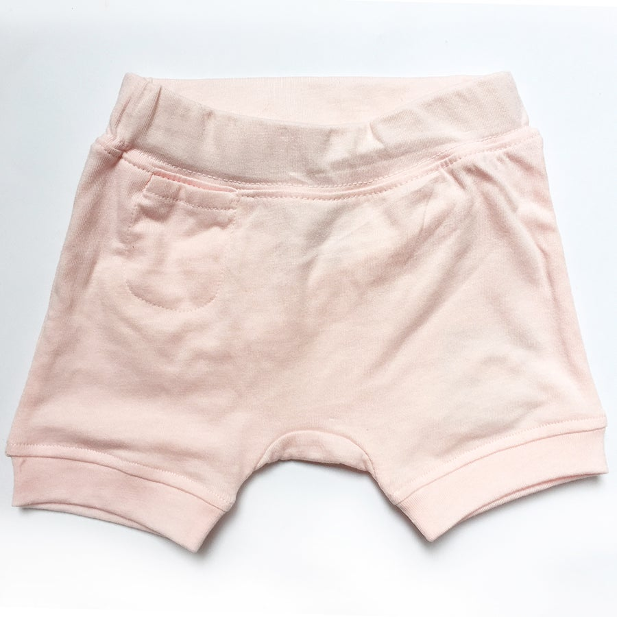 Image of Hello Harem Shorts . Pink