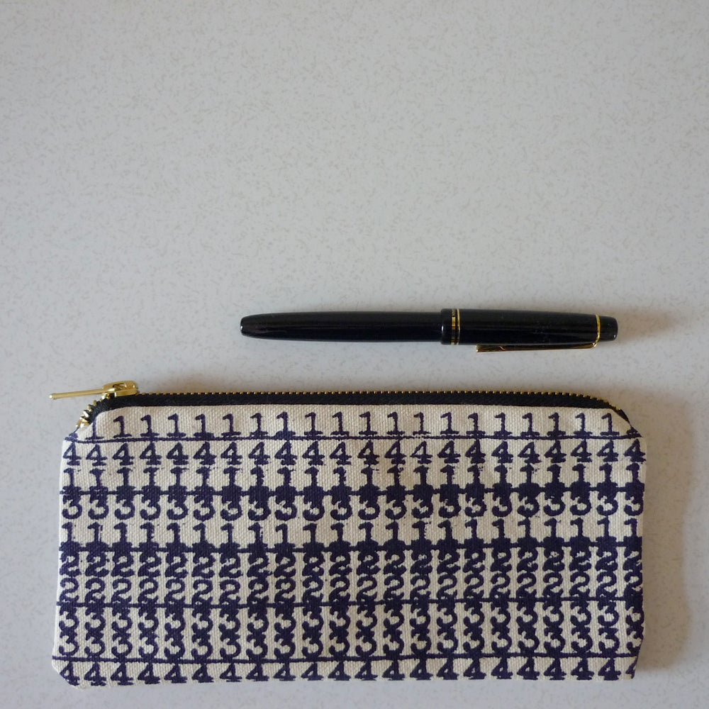 Image of Number Crunch pencil case