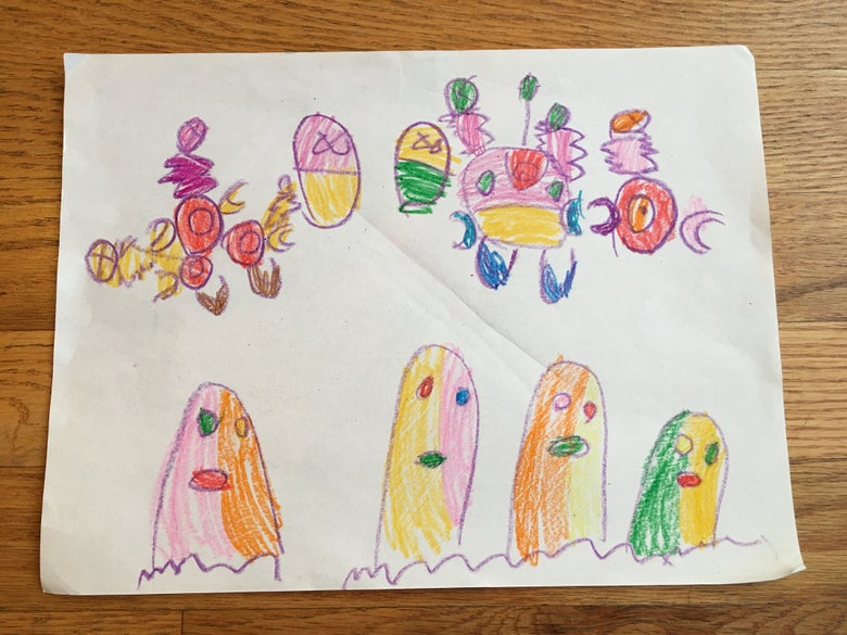 Image of Color Ghosts by Bloody Brains