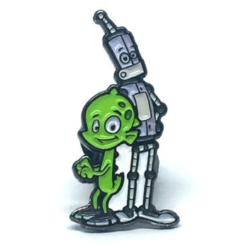Image of Rob And Chupi Enamel Pin