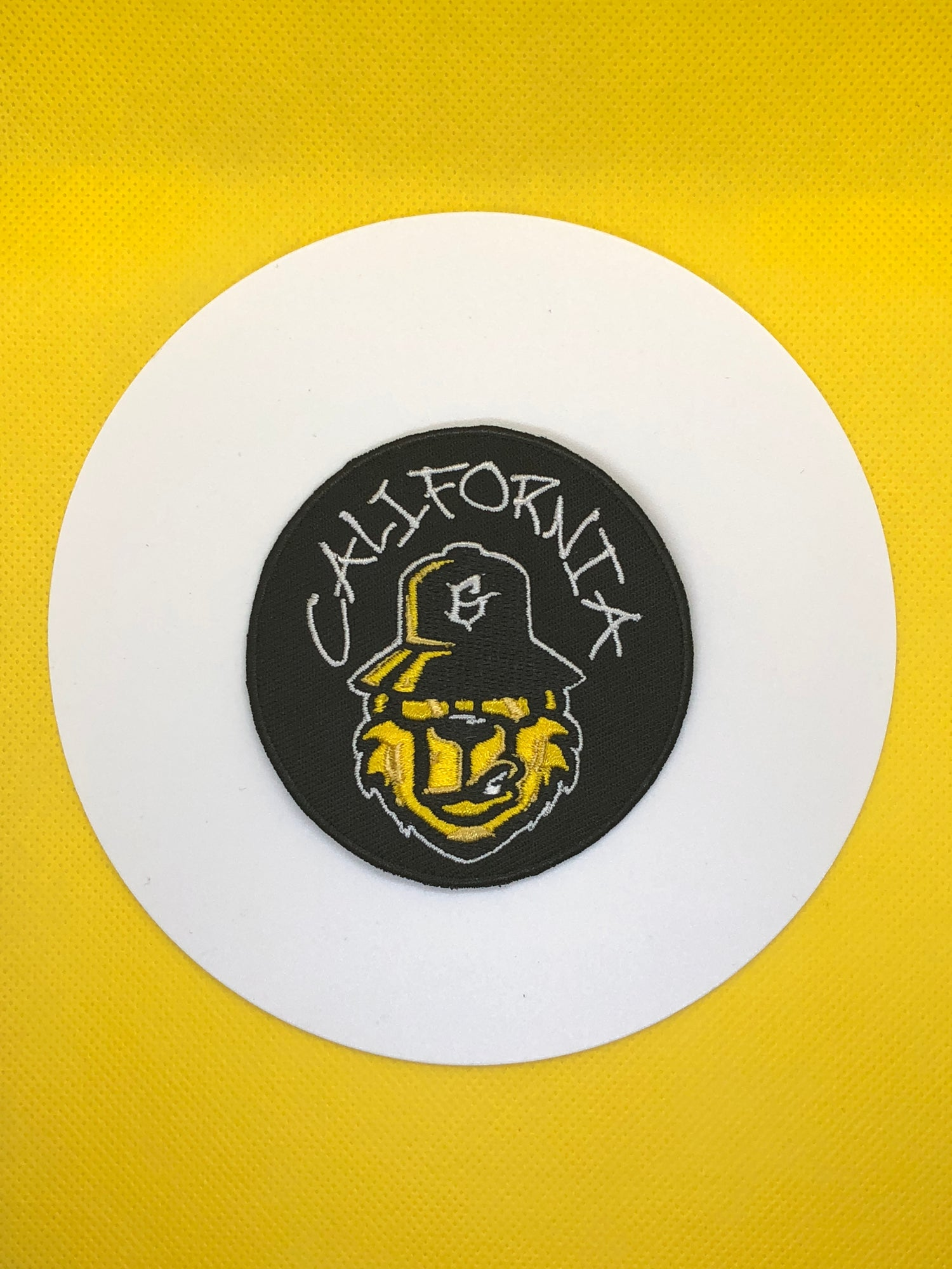 Image of Embroidered patch california bear